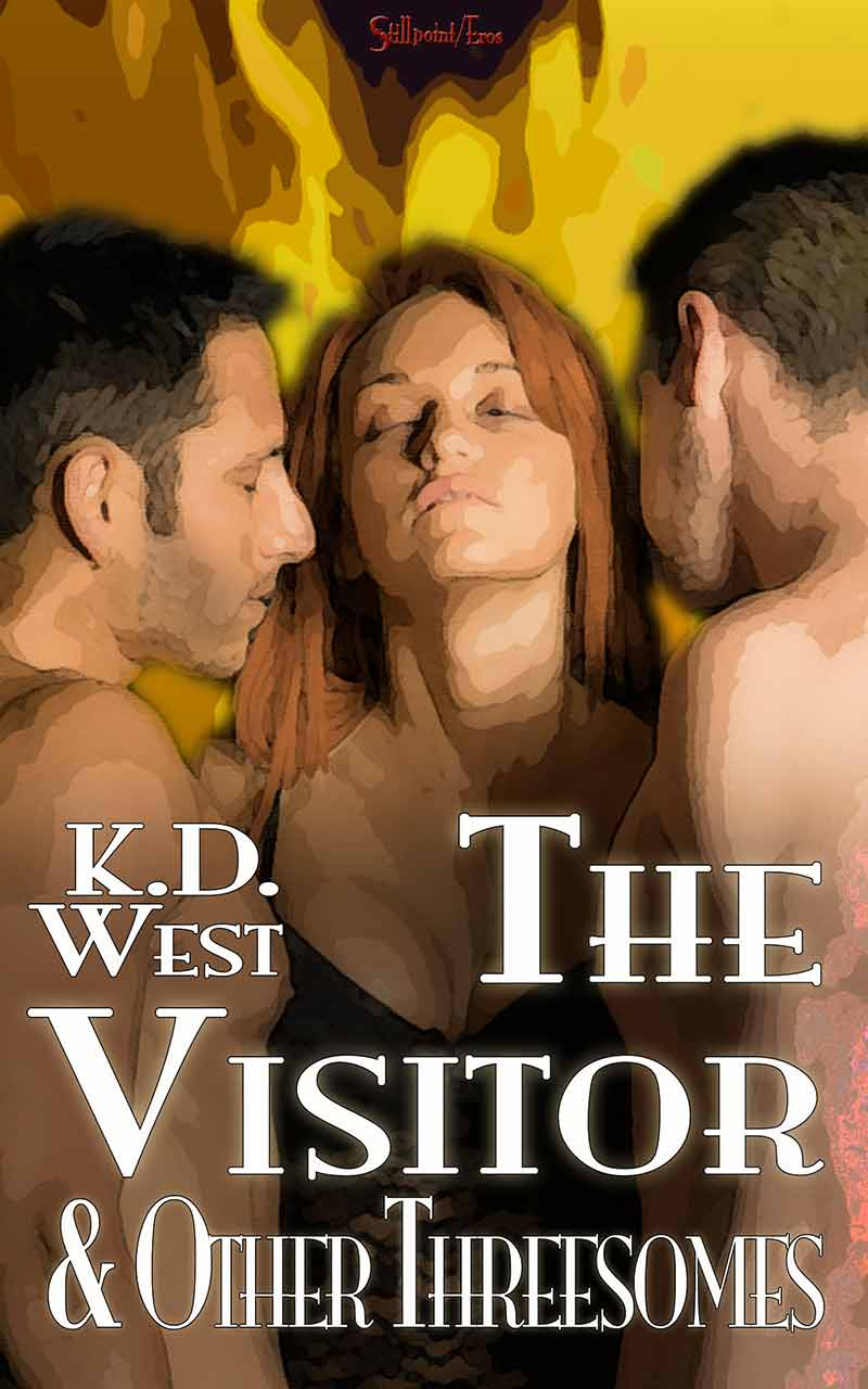 The Visitor and Other Threesomes by KD West