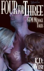 Four for Three cover FFM Menage Tales